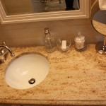 Installation of New Faucet for Bathroom Remodel